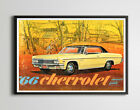 1966 Chevy Impala Owner's Guide POSTER! - Antique - Vintage - Classic Cars