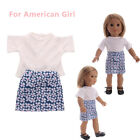 Handmade Doll Clothes Dress Outfit Accessories For 18 inch American Girl Doll