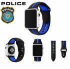 Police Lives Matter Thin Blue Line Apple Watch Replacement Band Strap 38mm 42mm  image