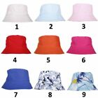 Camo Adults Bucket Hat Summer Fishing Fisher Beach Festival Sun Cap Outdoor UK