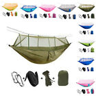 Camping Hammock With Mosquito Net Ultralight Nylon Sky Tent For Travel Outdoor