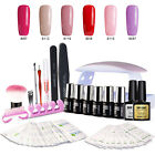 Modelones Set 8Pcs Gel Nail Polish UV Nail Dryer Lamp Starte