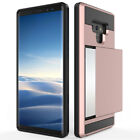 Hybrid Dual Layer Hard Protective Card Slot Case Cover for Samsung Galaxy Note 9