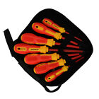 7Pcs Electrician Insulated Electrical Hand Screwdriver Slotted Tool CR-V 1000V