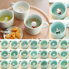 3D Small Ceramic Cute Animals Coffee Milk Cup Tea Mug Heat-resistant Nice Gift