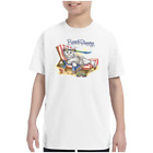 Youth Kids T-shirt Beach Princess Kitten Kitty Cat k-687