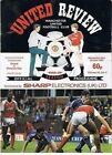 PROGRAMME Manchester United Football Club Home Game Programmes - VARIOUS