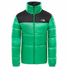 THE NORTH FACE nuptse III down veste primaire vert tnf black duvet NEUF S M L