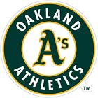 "Oakland Athletics MLB Color Die Cut Vinyl Decal Sticker You Choose Size 2""-28"" on Ebay"