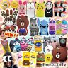 Cartoon/Limited/Funny/3D/Soft Silicone Case Design For iPhoneSE/5/6/S/Plus UK
