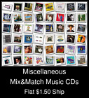 Miscellaneous(4) - Mix&Match Music CDs U Pick *NO CASE DISC ONLY*