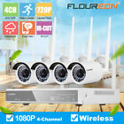 Wired/Wireless 4CH 1080P NVR Outdoor 720...