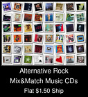 Alternative Rock(8) - Mix&Match Music CDs U Pick *NO CASE DISC ONLY*