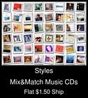 Styles(34) - Mix&Match Music CDs U Pick *NO CASE DISC ONLY*