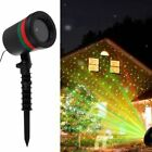 LED Moving RG Laser Projector Landscape Lighting Party Xmas Garden Lamp Outdoor