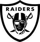 NFL Oakland Raiders Vinyl Decal Sticker Football for Car Truck Logo NFL FOOTBALL $7.50 USD on eBay
