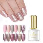 BORN PRETTY 6ml Soak Off UV Gel Nail Polish Rose Gold Sequins Gel Nails Salon