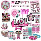 LOL Surprise Birthday Party Supplies L.O.L Decoration Party Tableware Balloons