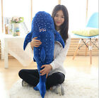 New Big Whale Shark Toy Plush Stuffed Animal Ocean Spotted Fish Kids Xmas Gift