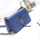 High-end Luxury Women Design New PU Leather Chain shoulder Bag Crossbody Purse