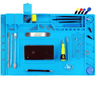 LARGE SILICONE WORKING MAT OPENING LAPTOP MOBILE CELL PHONE REPAIR TOOL PAD TRAY