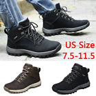New Mens Plush Winter Snow Boots Outdoor Casual Lace Up Short Shoes US Size115