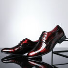 Men's Dress Business Leather Shoes Oxford Formal Lace Up Pointy Toe Wedding Prom