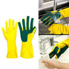 Kitchen Household Rubber Gloves Latex Washing Up Long Sleeve Dishes Cleaning Sof