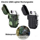 USB Rechargeable Lighter - Electric Lighter/Windproof Flameless for Outdoors