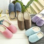 Men Women Soft Touch Warm Indoor Slippers Mute House Home Anti slip Shoes US
