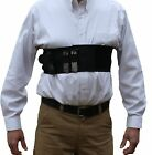 AlphaHolster Chest Band Gun Holster w/ Removable Suspender Cool Elastic Material