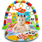 Baby Play Rainforest Rabbit Gym Blankets Pedal Piano Activity Fitness Music Mat