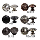Knobs Pulls Round Kitchen or Bath Cabinet Hardware Color Collection by KPT