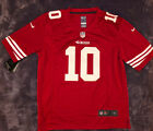 Jimmy Garoppolo #10 Jimmy G San Francisco 49ers Adults Sewn Red Jersey NWT