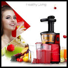 Slow Juicer Fruit Vegetables Low Speed Juice Extractor Centrifuges Machine Home