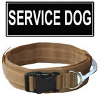 2 Inch Tactical Military Hunting Training Dog Collar Nylon Reflective handle
