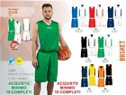 SET Basketball DOUBLE FACE SPORTIKA SET ASSEN Reversible Sizes CHILD ADULT