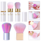 Gradient Soft Dust Cleaning Brush Acrylic Powder Remover Brush Nail Art DIY Tool