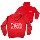 FB Rock Climbing Hoodie Climbing Beer Novelty Birthday Christmas Hoody Jumper