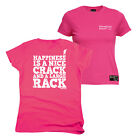 FB Rock Climbing Tee Happiness Nice Crack Womens Fitted T-Shirt Top T Shirt