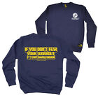 FB Gym Bodybuilding Sweatshirt - If You Dont Fear Your Workout - Sweater Jumper