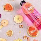PP 600/1000ML Portable Clear Sports Travel Fruit Juice Water Cup Bottle DT4C