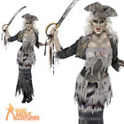 Zombie Pirate Costume Ghost Ship Ghoulina Lady Ladies Halloween Fancy Dress