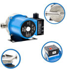 220V Automatic Booster Pump Household 45/110LPM Flow 33/52ft Lift for Heater