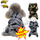 Camouflage Fleece Dog Hood Clothes For Ropa Para Coat Double Suede Four-legged