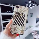Luxury Off White iPhone Case For iPhone X 6 7 8 S Plus Brand New Off-White Cover