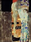 The Three Ages of Woman Gustav Klimt 1905 Poster Canvas Picture Art Print A0-A4