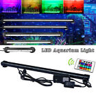 LED Aquarium Lights With RGB REMOTE Submersible Underwater Garden Pond Lighting