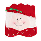 Mrs Santa Claus Chair Back Cover Xmas Party Home Decor Christmas Dinner Banquet