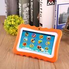 Quad Core 7Inch 8GB Kids Tablet PC Android4.4 Dual Camera HD WiFi Bundle Case ZK